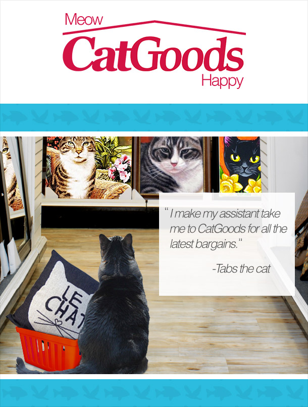 Tabs for CatGoods stores