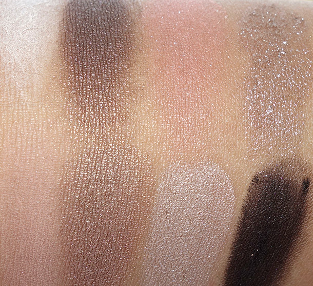 Bobbi Brown Hot Nudes Eye Palette Swatches