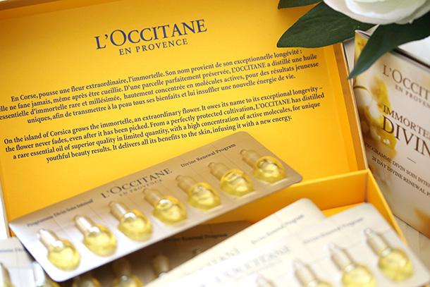 L'Occitane 28 Days Divine Renewal Program