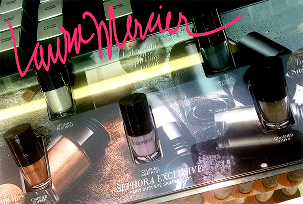 The new Laura Mercier Fairy Dust Eye Shimmers, $28 each