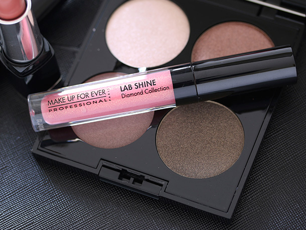 Make Up For Ever Fifty Shades of Grey Give In To Me Set, Lab Shine Lip Gloss in D14