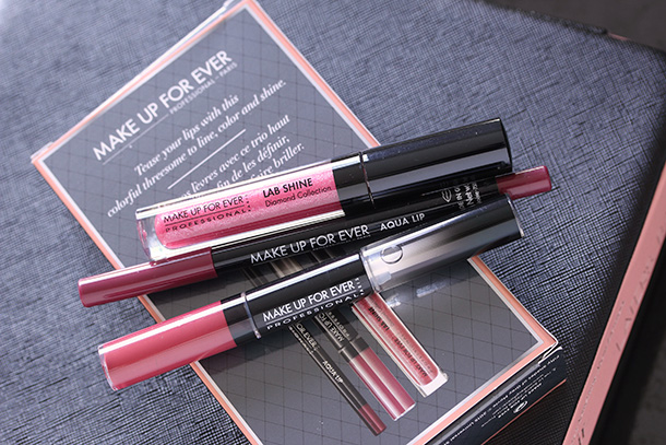 Make Up For Ever Tease Me Berry Lip Trio