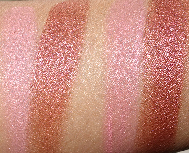 Dual-Intensity Blush in Fervor dry (left) and wet (right)