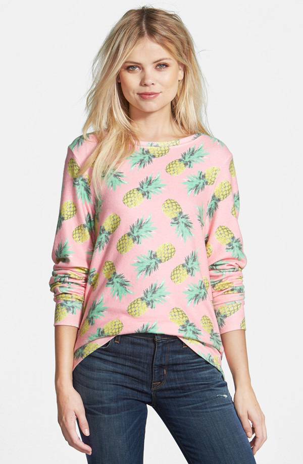 Wildfox Pineapple Palace Sweatshirt