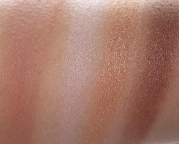 Estee Lauder Bronze Goddess Shimmering Nudes Face Eye Palette