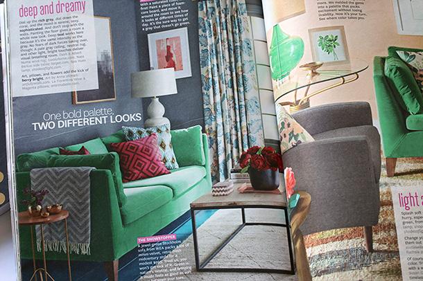 Ikea Green Stockholm Sofa