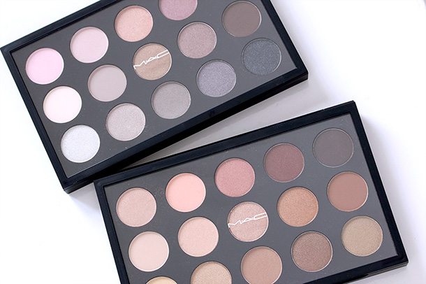 MAC Cool Neutral (top) and Warm Neutral (bottom) Palettes
