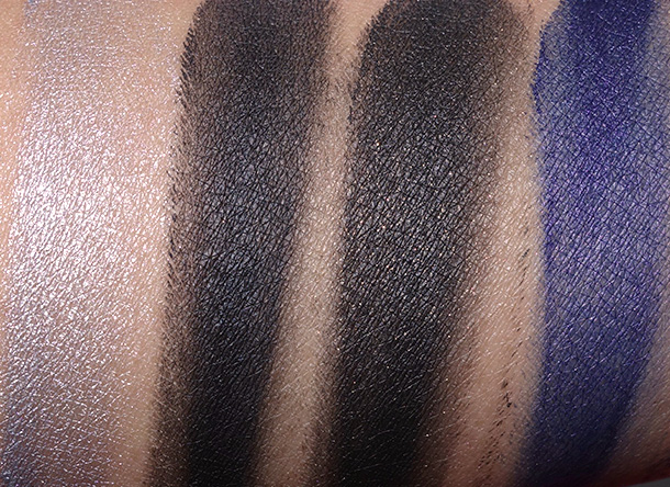 mac is beauty swatches