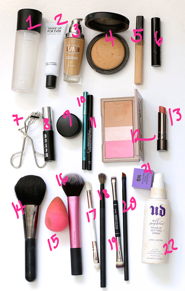 Things Needed To Do Your Makeup