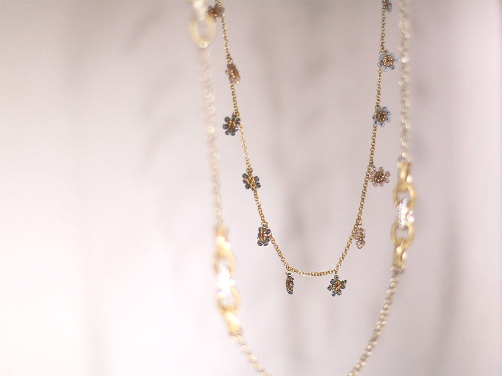 Anthropologie Layering Necklace