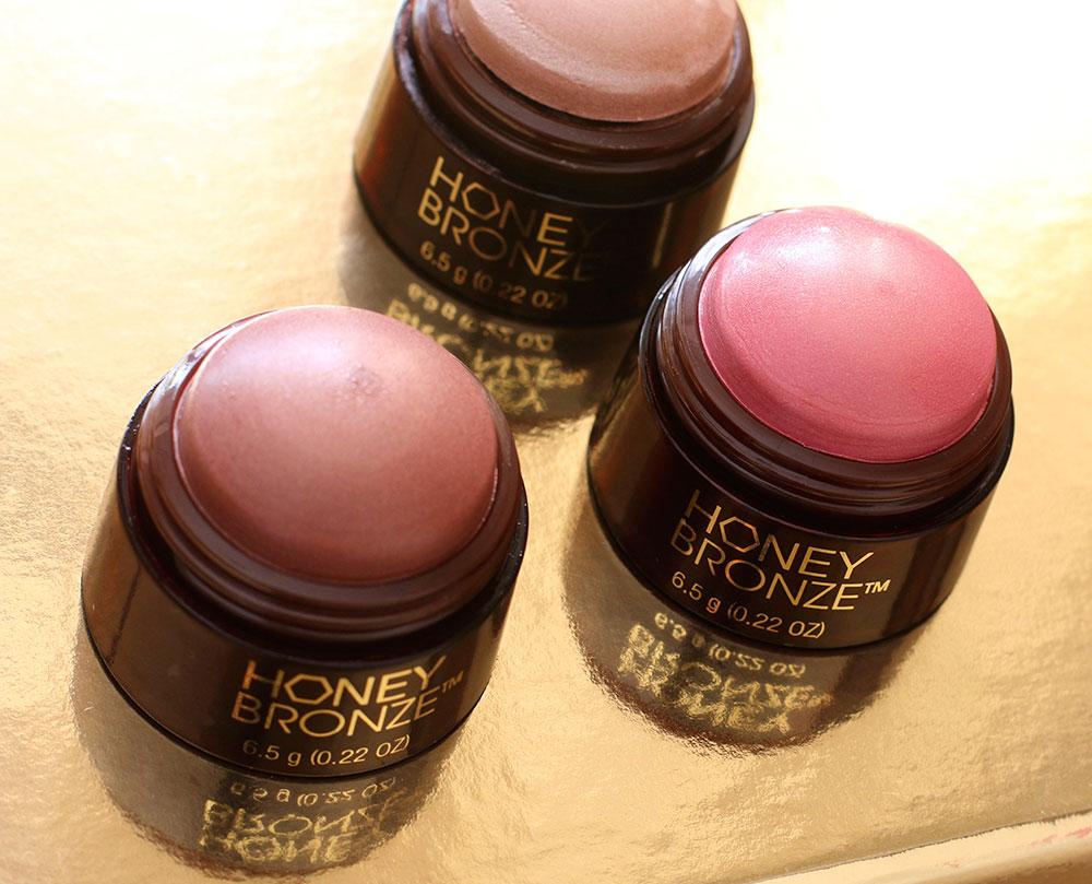 body shop honey bronze highlighting dome
