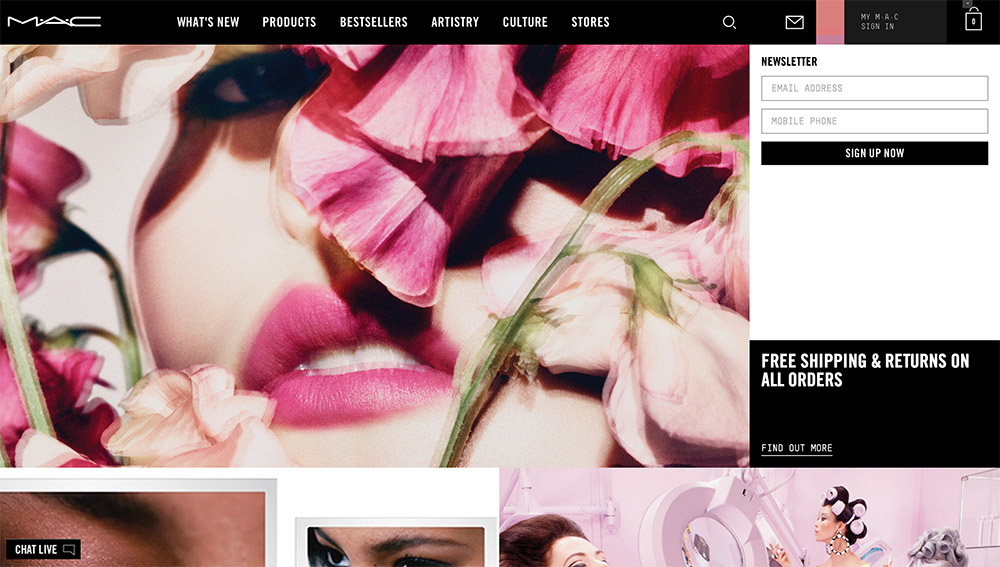 maccosmetics homepage