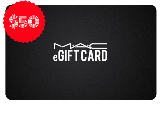 $50 MAC eGIFT CARD