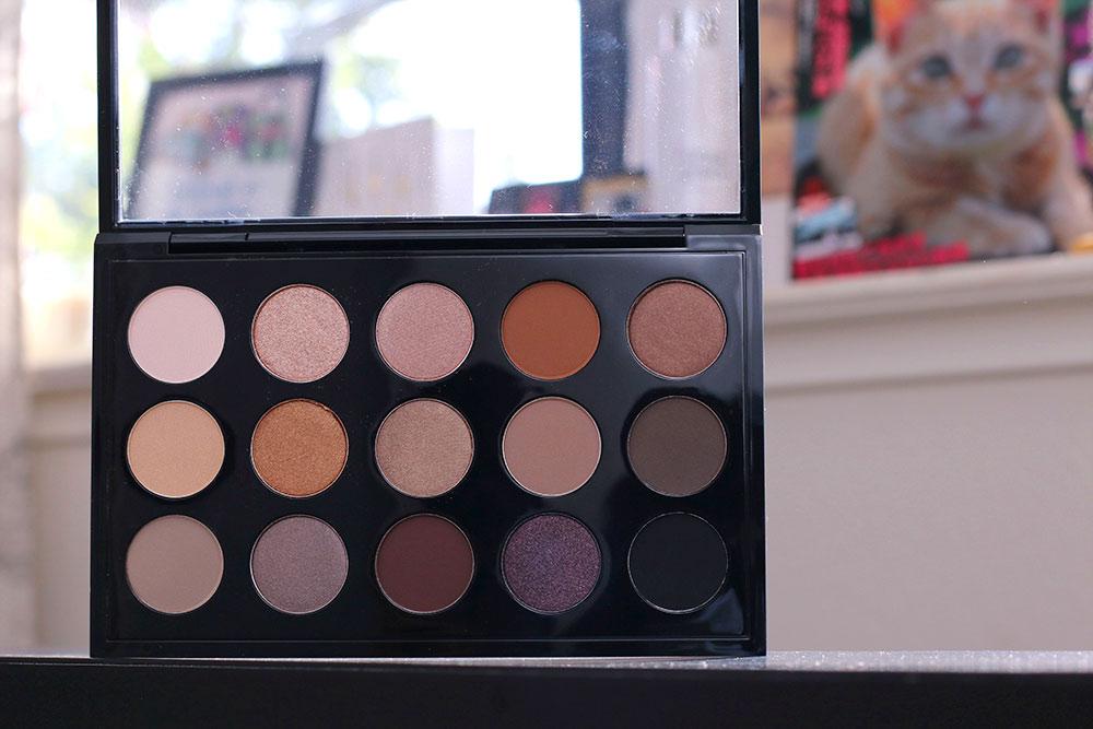 mac nordstrom naturals eyeshadow palette