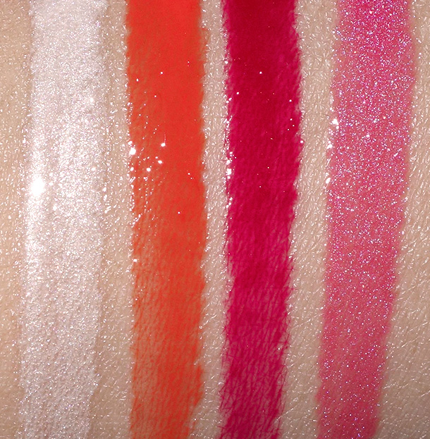 mac wash and dry collection lipglass
