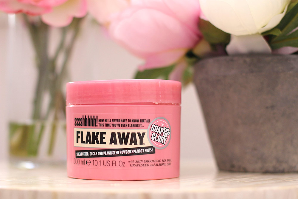 soap glory flake away