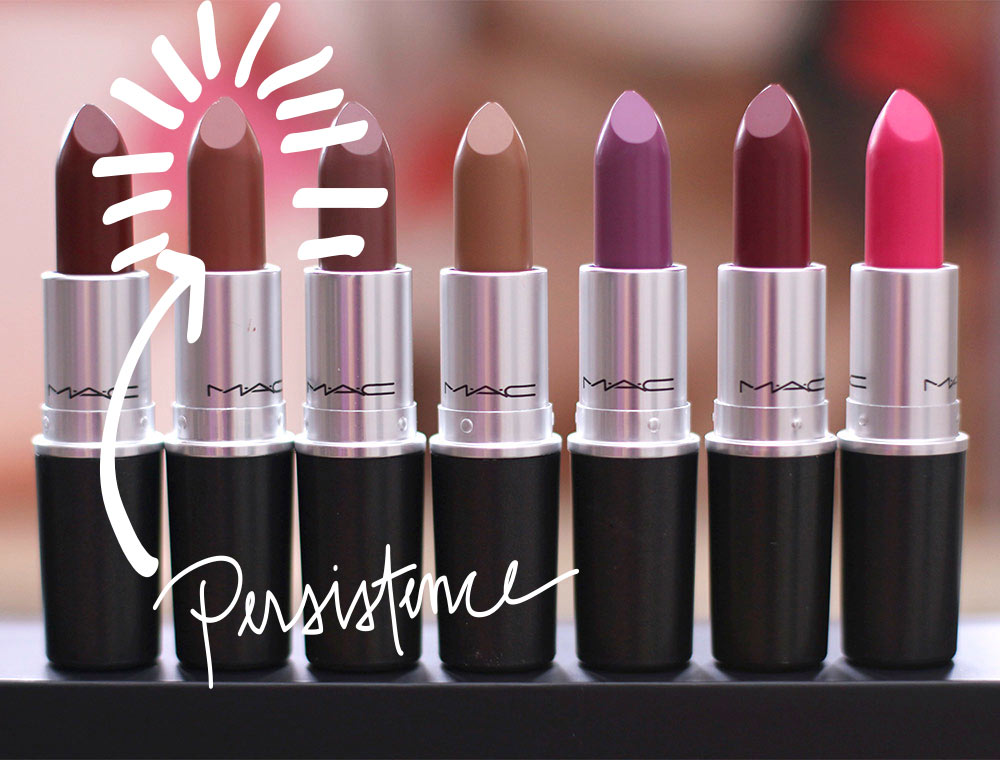 mac unsung heroes: persistence matte lipstick - makeup and beauty blog