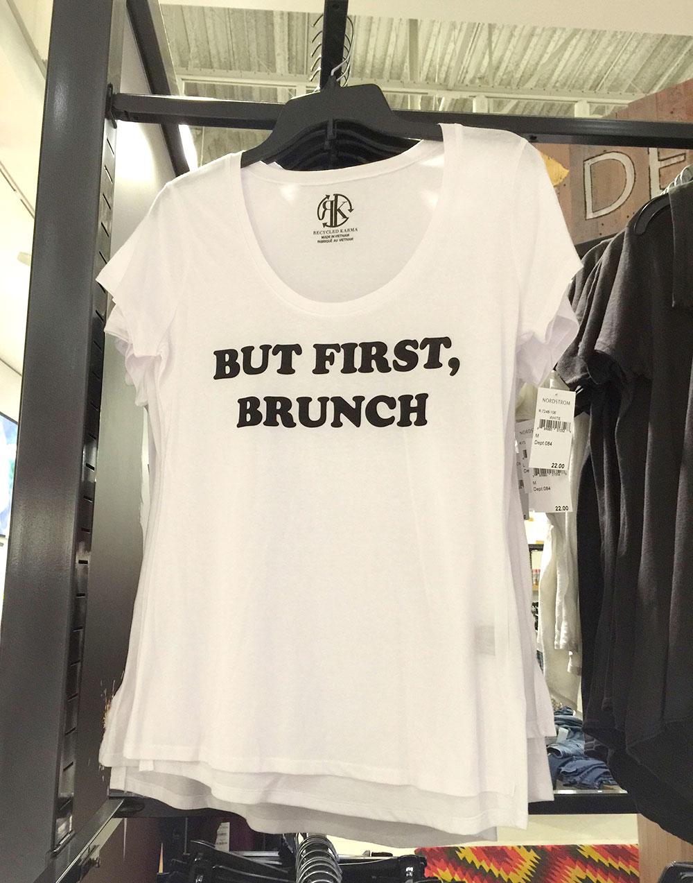 but first brunch