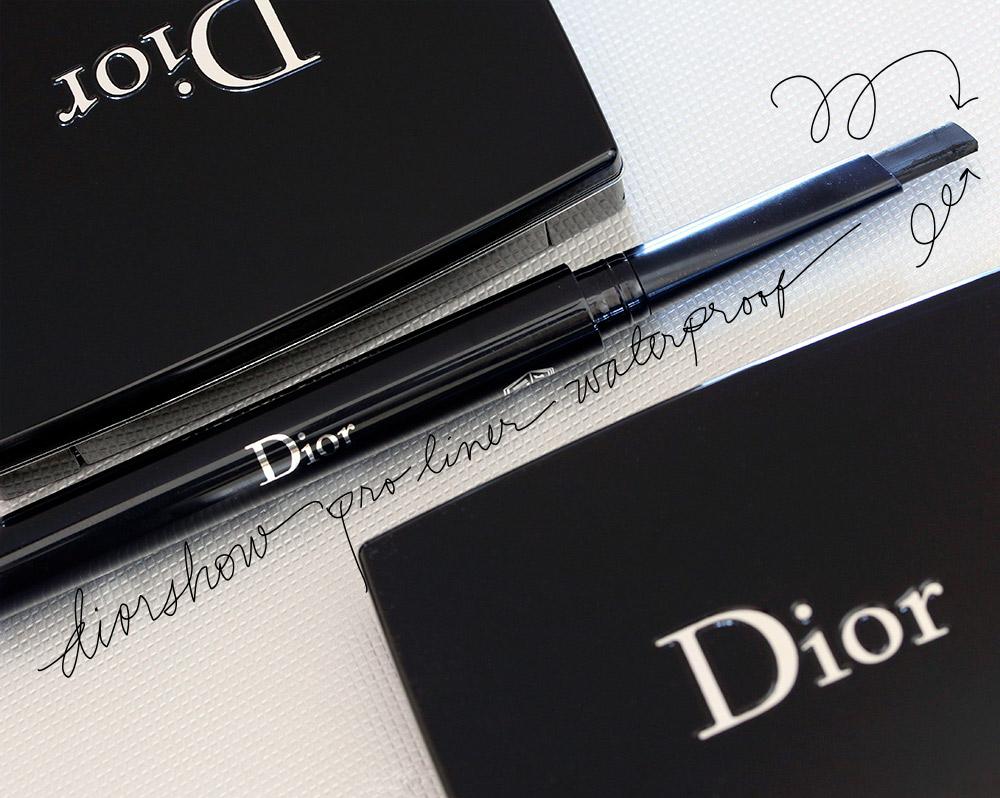 Dior Diorshow Pro Liner Waterproof in Backstage Black #092 ($32)