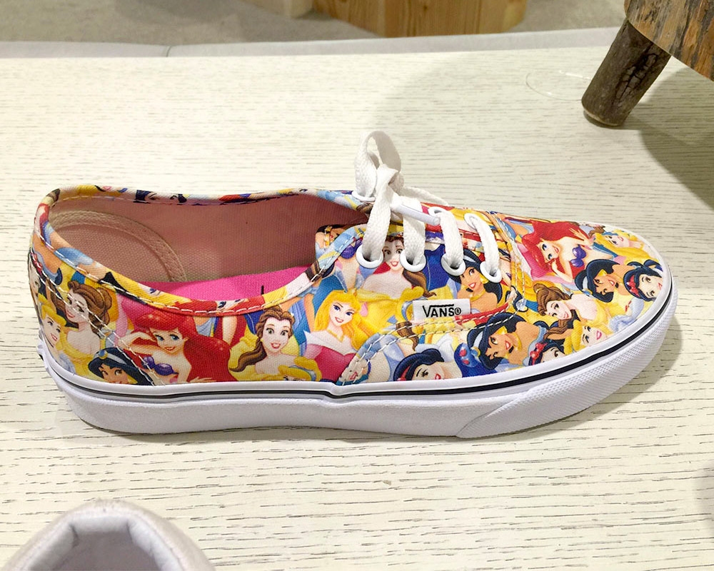 Vans Disney Princess Sneakers, $59.95