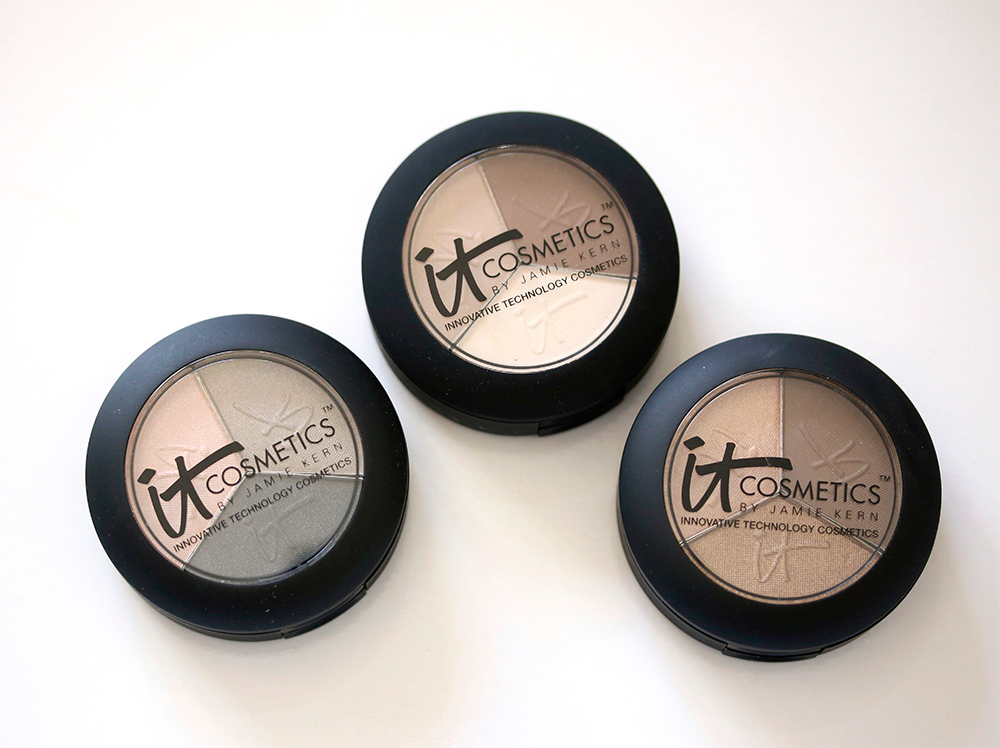 """The It Cosmetics Naturally Pretty Eyeshadow Trios: Say """"Bye, Felicia!"""" to Fine Lines, and """"Hello, Gorgeous!"""" to Naturally Pretty Lids"""