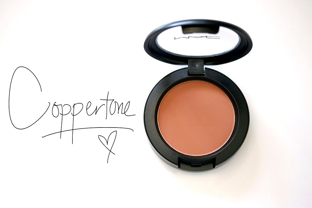 mac coppertone blush