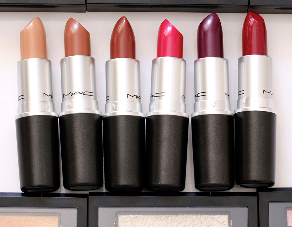 mac veluxe a trois lipsticks