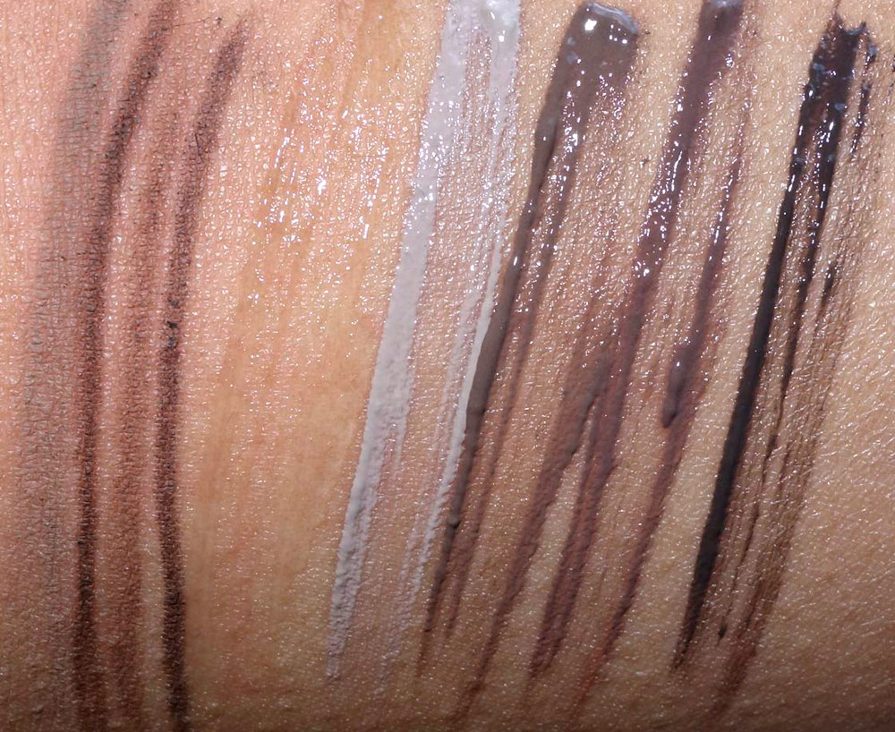 urban decay brow swatches