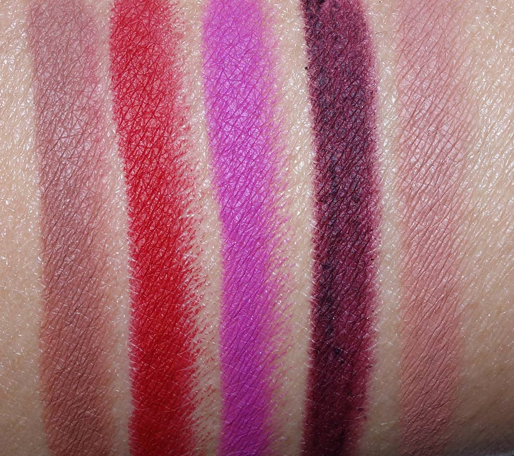 urban decay glide on lip pencil swatches