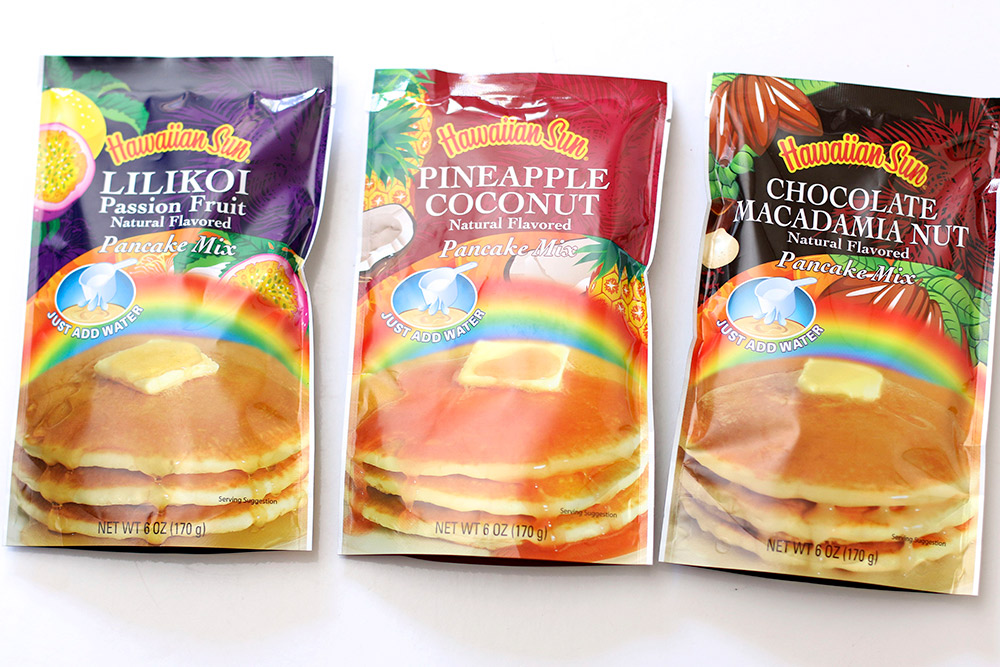 hawaiian sun pancake mix