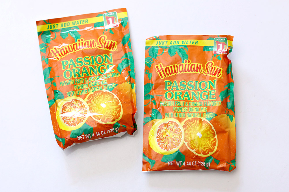 hawaiian sun passion orange