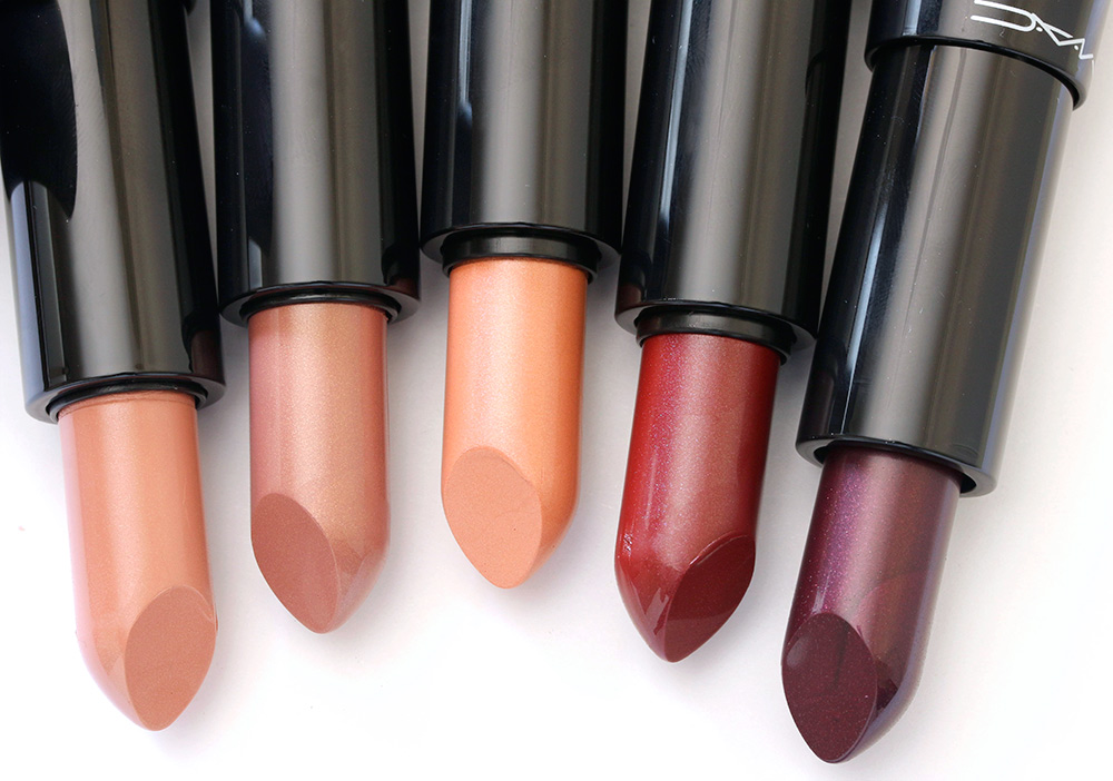 mac haute dogs lipsticks