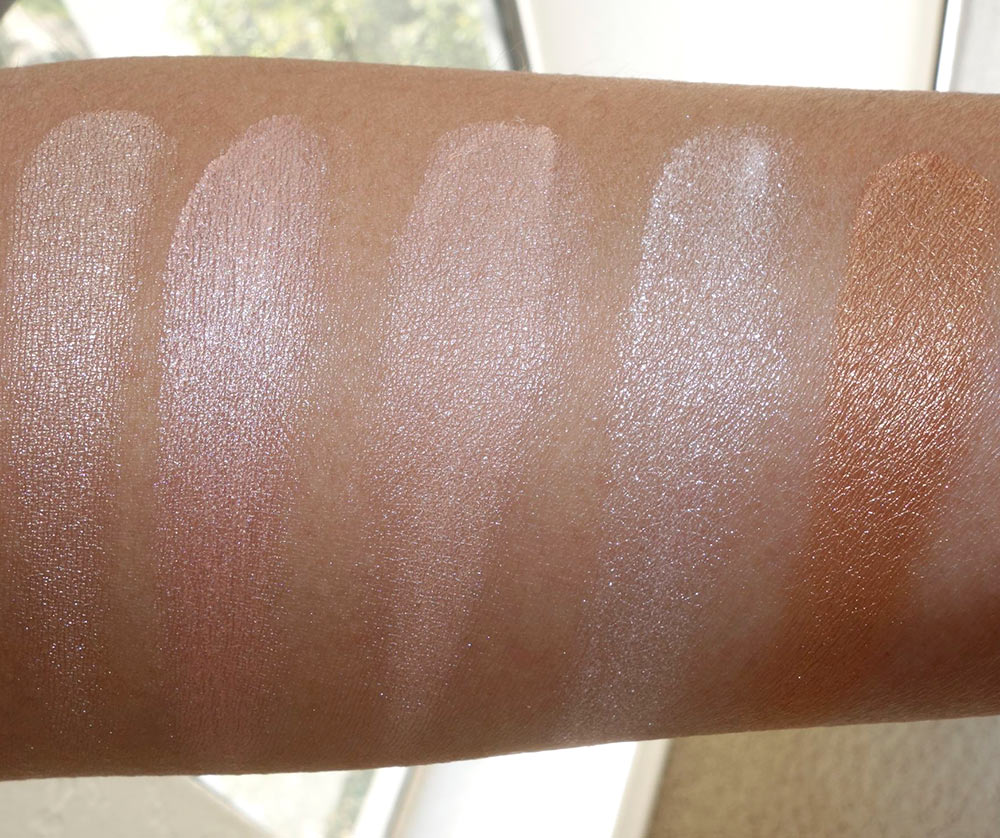 5 best highlighter swatches