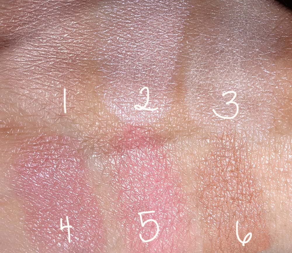 hourglass lighting edit swatches