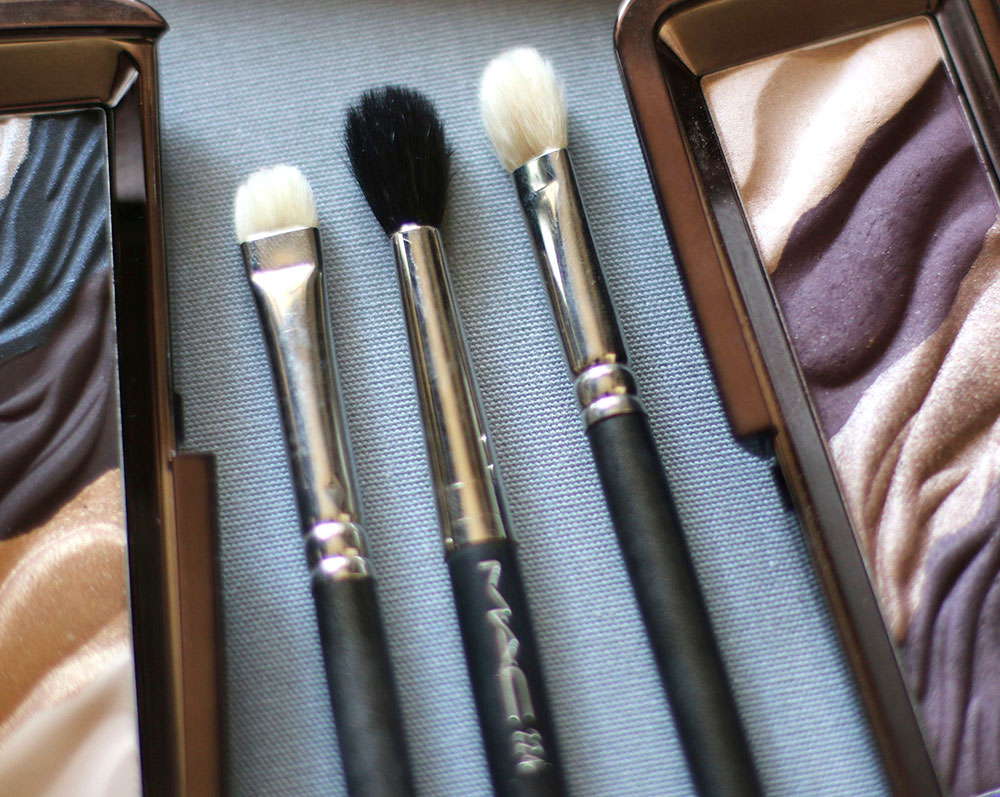 From the left: MAC 239, MAC 224 and MAC 217 brushes