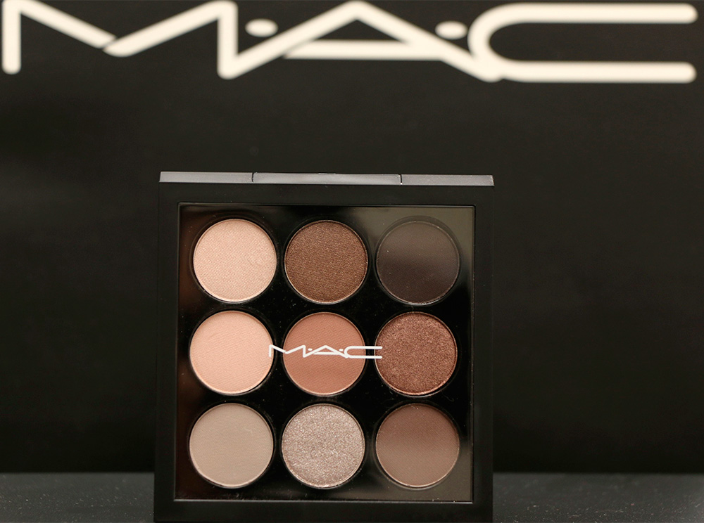 mac macnificent me eye shadow x 9