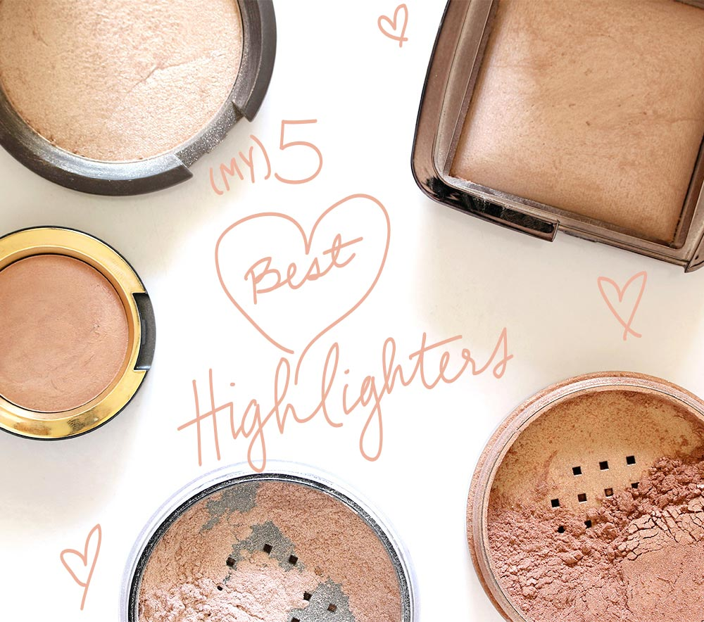 my five best highlighters