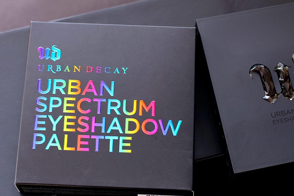urban decay urban spectrum eyeshadow palette