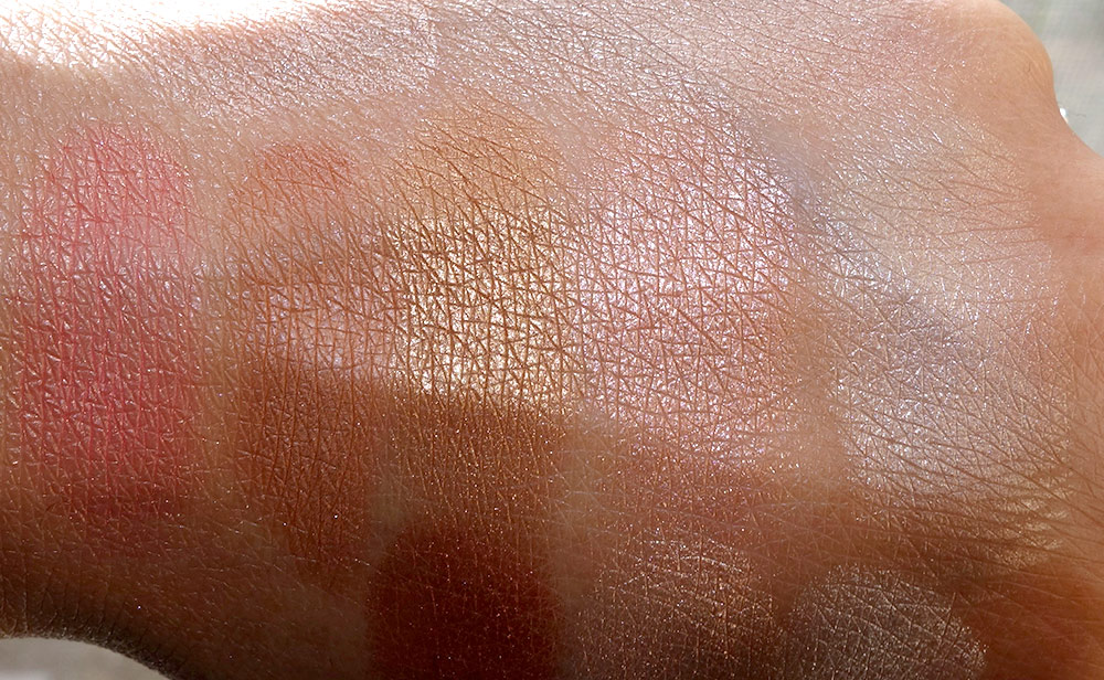 becca holiday 2015 afterglow swatches