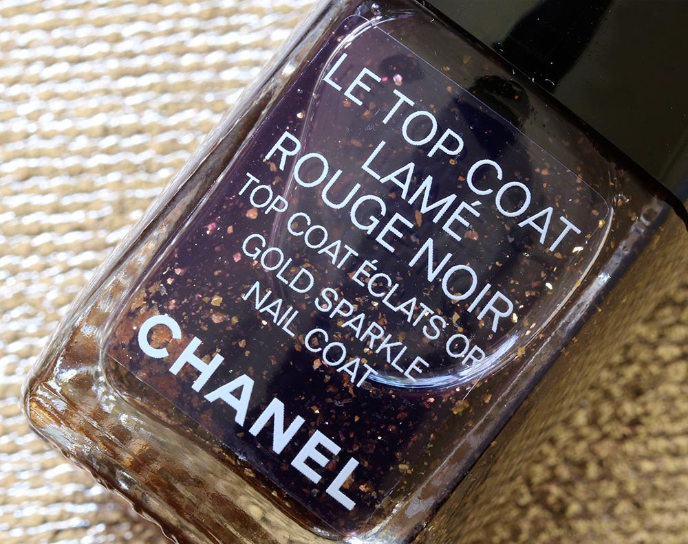 chanel holiday 2015 lame rouge noir