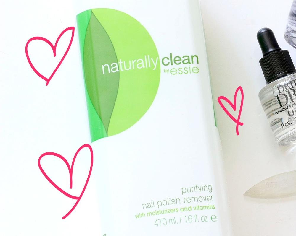 essie naturally clean