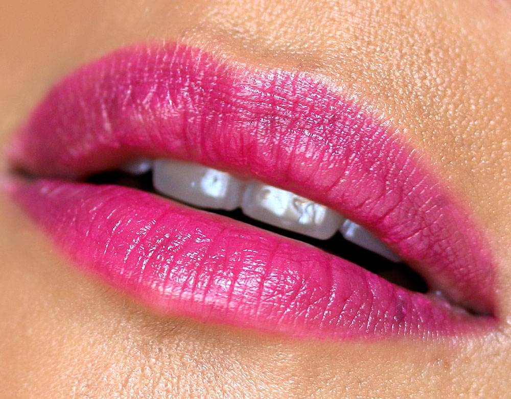 mac enchanted eve pink lipstick lets rendezvous