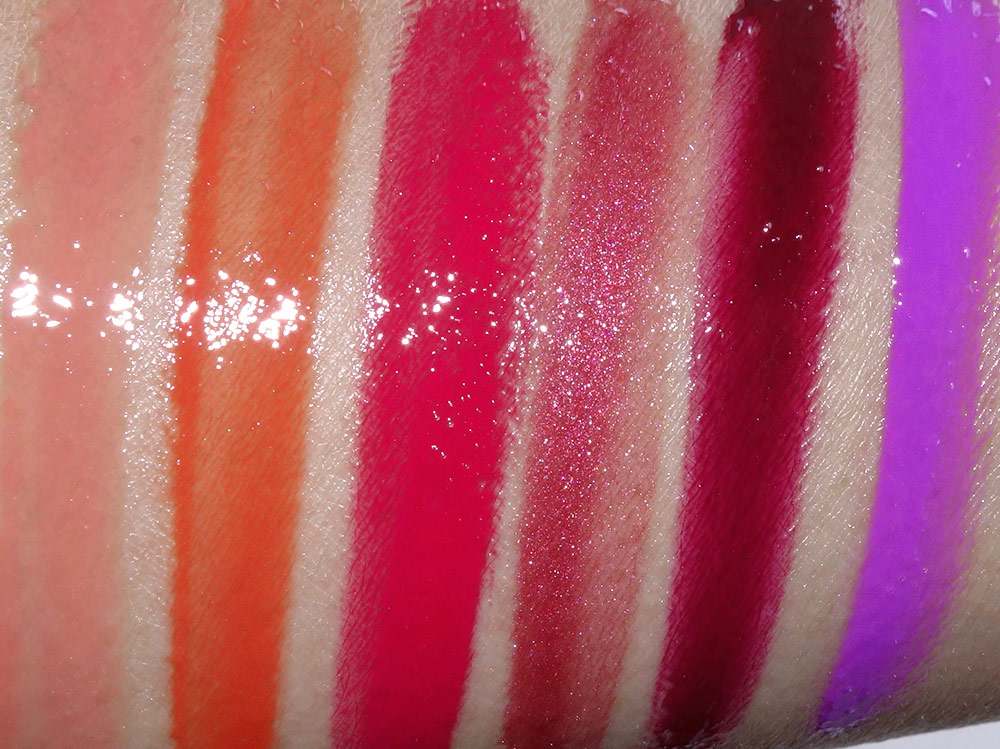 make up for ever artist plexi gloss collection