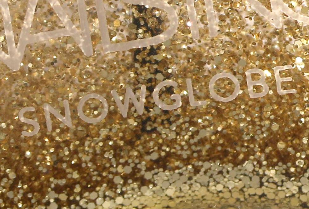 nails inc snow globe closeup