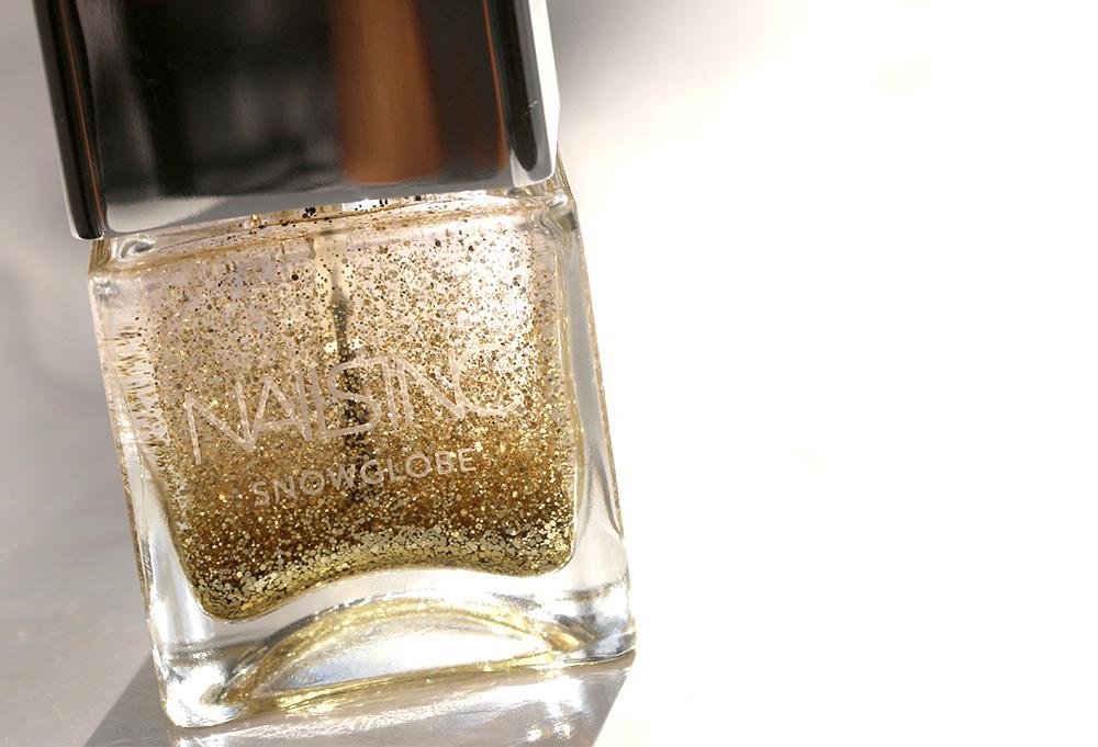 nails inc snow globe