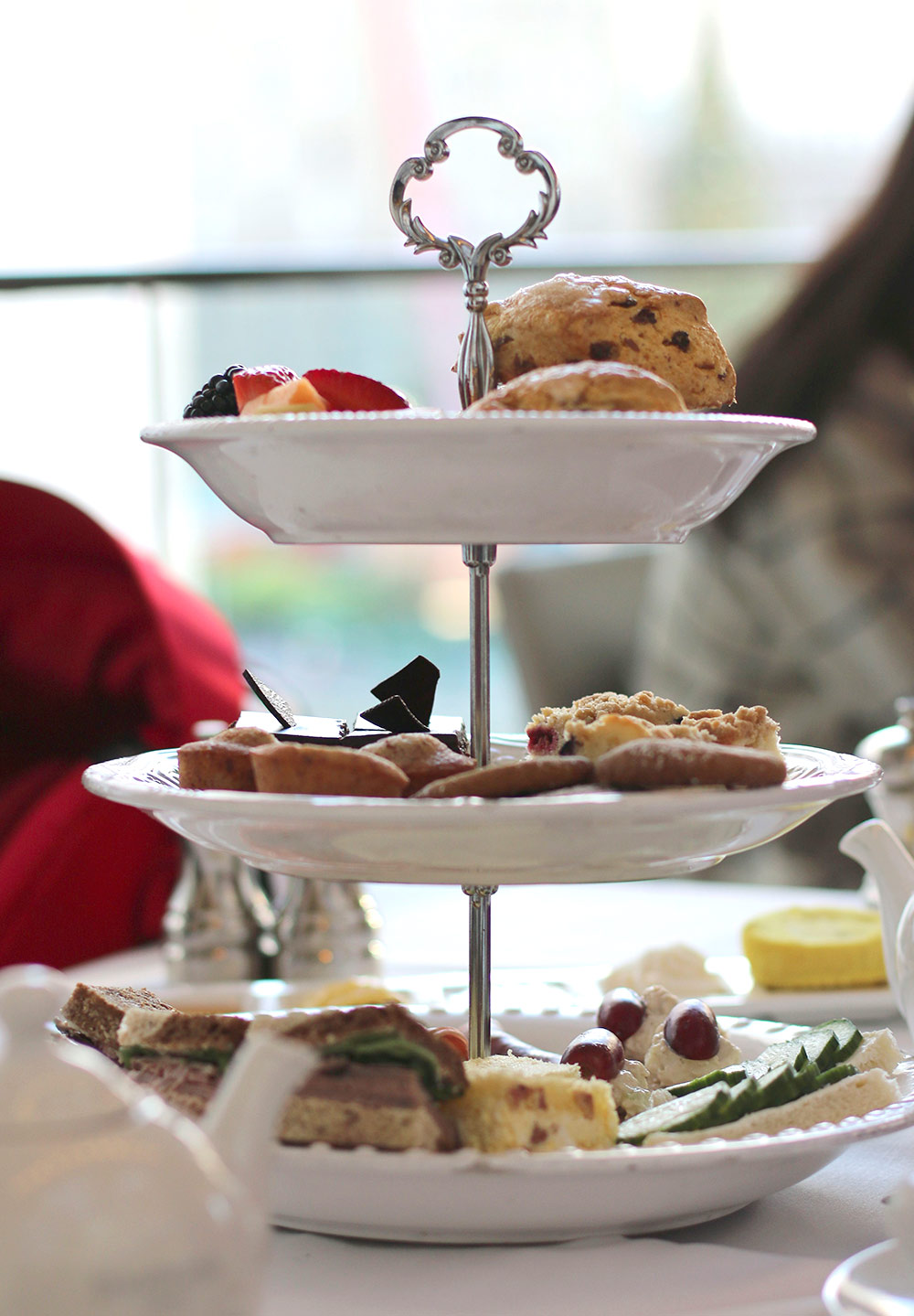 high tea neiman marcus rotunda three tiers