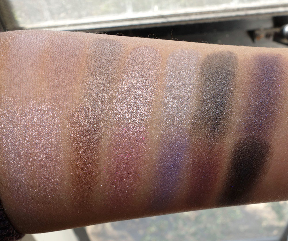 laura geller delectables delicious shades of cool dry swatches