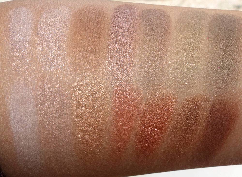 laura geller delectables delicious shades of nude dry swatches