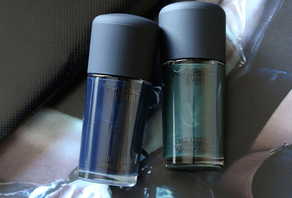 mac dark desires studo nail lacquer