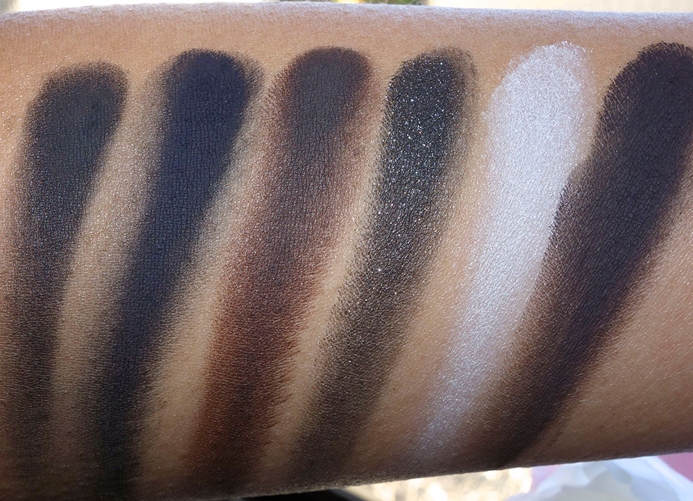 mac into the well eye shadow swatches dry